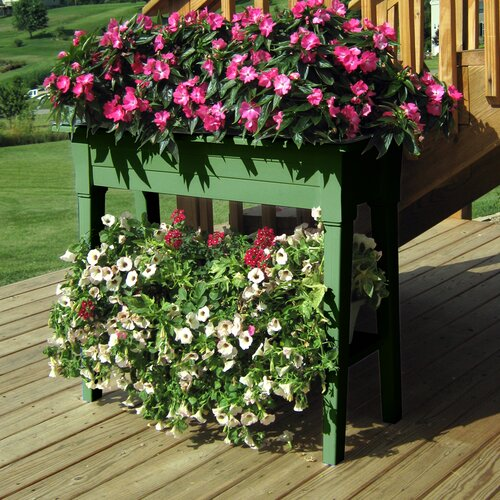 Adams Manufacturing Corporation Rectangular Deluxe Garden Planter