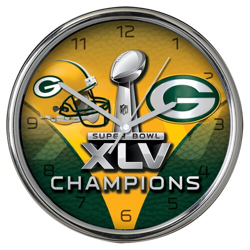 Super Bowl Champions Wall Clock