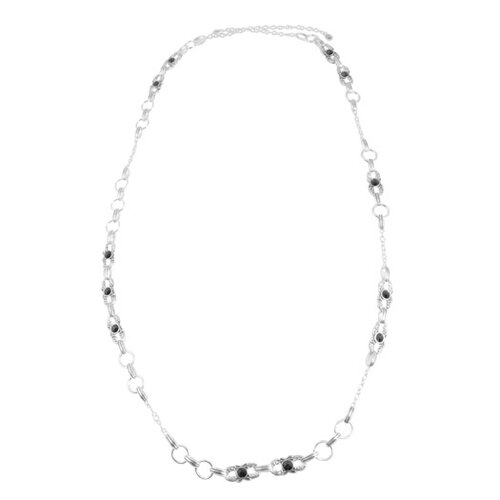 Barse Hollywood Metal Crystal Necklace