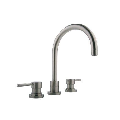 Double Handle Deck Mount Roman Tub Faucet Trim with Lever Handle