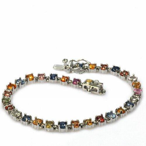 Colorful Sapphire Bracelet