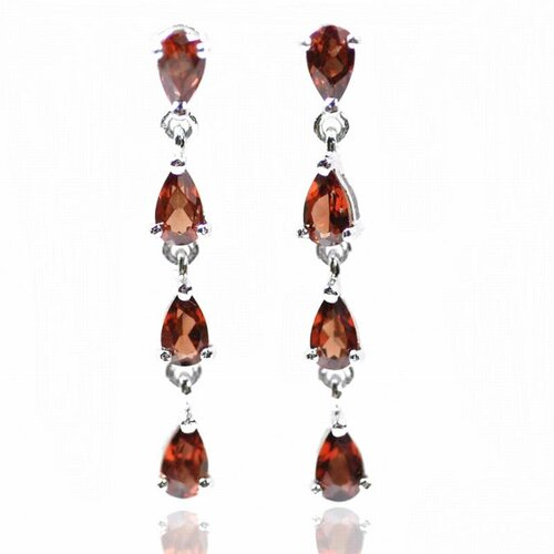 DeBuman Eight Pear Gemstone Earring