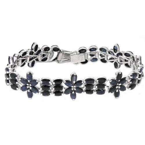 Natural Sapphire Link Bracelet