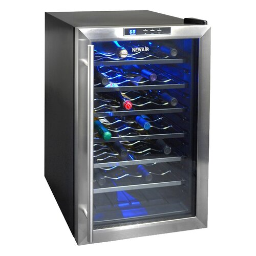 28 Bottle Single Zone Thermoelectric Wine Refrigerator