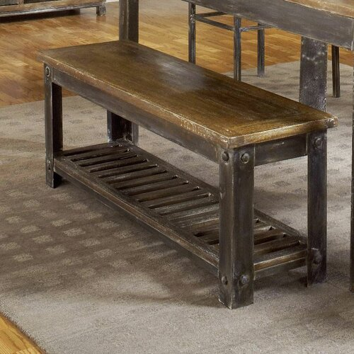 Benches For Kitchen Table: Modus Farmhouse Wood Kitchen Bench & Reviews