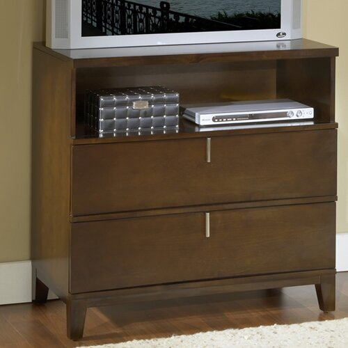 Modus Furniture Legend Wood 2 Drawer Media Chest