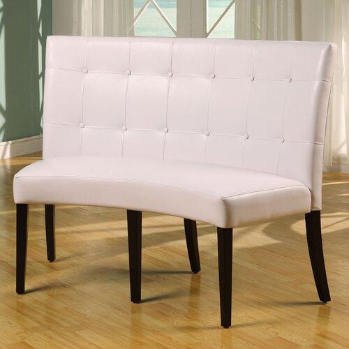 Bossa Leatherette Bench