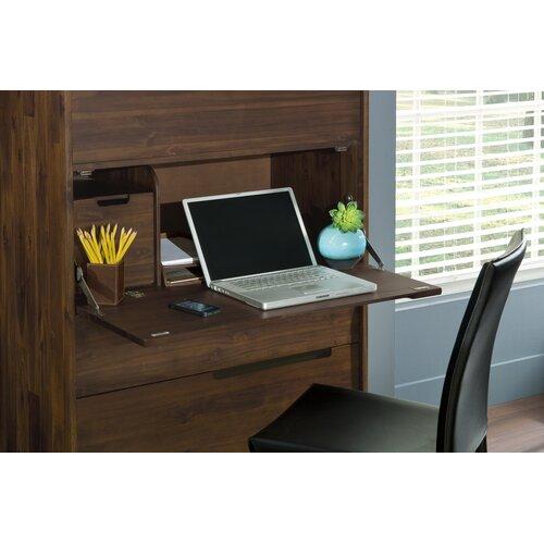 Modus Furniture Portland 4 Drawer Secretary Chest