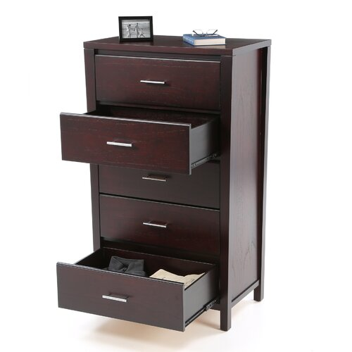 Modus Furniture Nevis 5 Drawer Chest