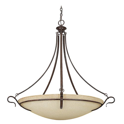 Sunset Lighting 5 Light Bowl Pendant Amp Reviews