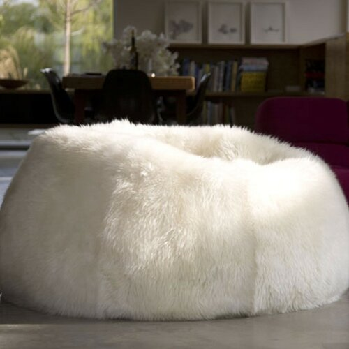 Sheepskin Bean Bag Chair