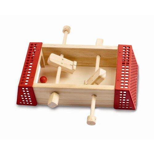 Red Tool Box Mini Soccer Game