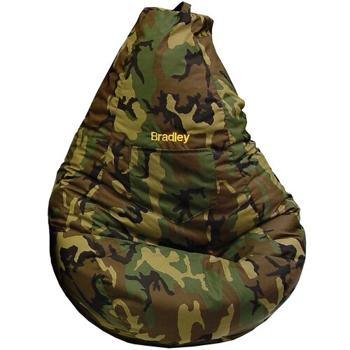 Monogram Camo Tear Drop Bean Bag Lounger