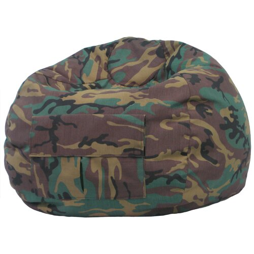 Gold Medal Bean Bags Camouflage Bean Bag Chair