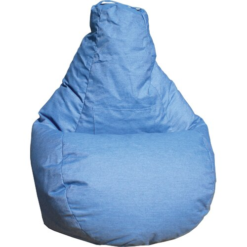 Gold Medal Bean Bags Tear Drop Denim Bean Bag Lounger