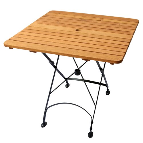 Rebecca Folding Square Table