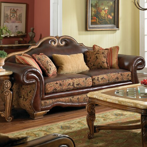 Toscano High Back Sofa