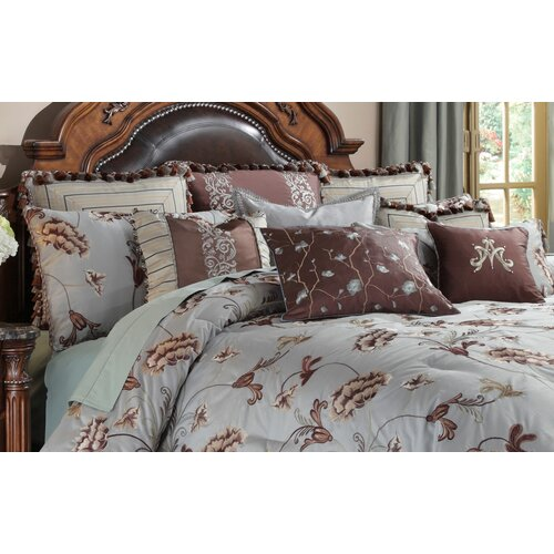 Michael Amini Enchanment Ensemble King Comforter Set
