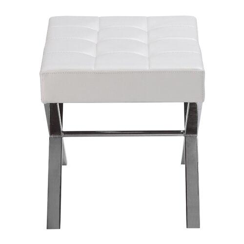 Sunpan Modern Mercer Faux Leather Bench