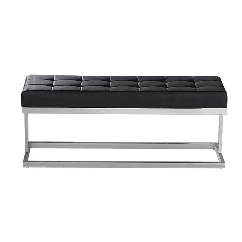Viceroy Faux Leather Bench