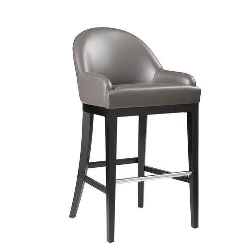 "Sunpan Modern Haven 30"" Bar Stool with Cushion"