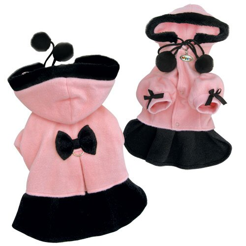 Klippo Pet Adorable Soft Fleece Princess Dog Dress