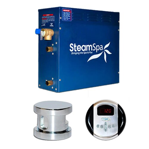Steam Spa Oasis 9 kW Steam Generator Package