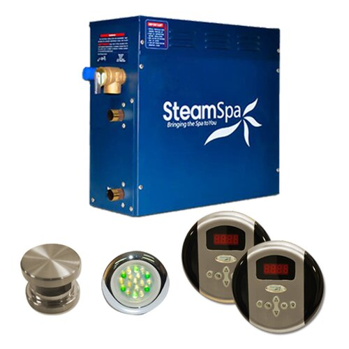 Steam Spa Royal 4.5 kW Steam Generator Package