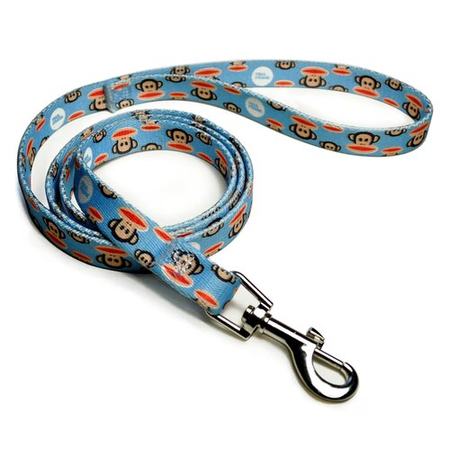 26 Bars & A Band Paul Frank Signature Julius Pale Blue Dog Leash