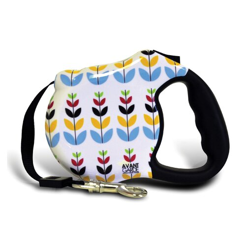 26 Bars & A Band Avant Garde Sprout Retractable Dog Leash