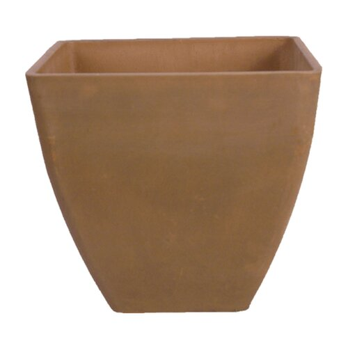 "Arcadia Garden Products 13"" Simplicity Square Pot"
