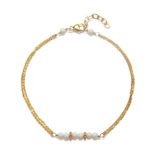 Amanda Rudey Timeless Beauty Crystal Cultured Pearl Selma Bracelet