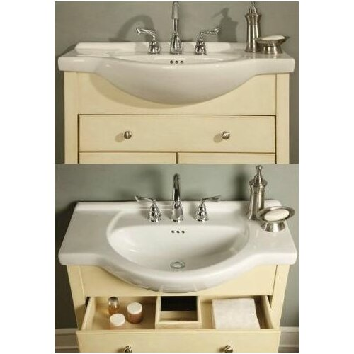 Empire industries wayfair for Bathroom cabinets narrow depth