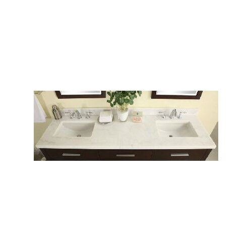 "Empire Industries Euro 61"" Marble Vanity Top"