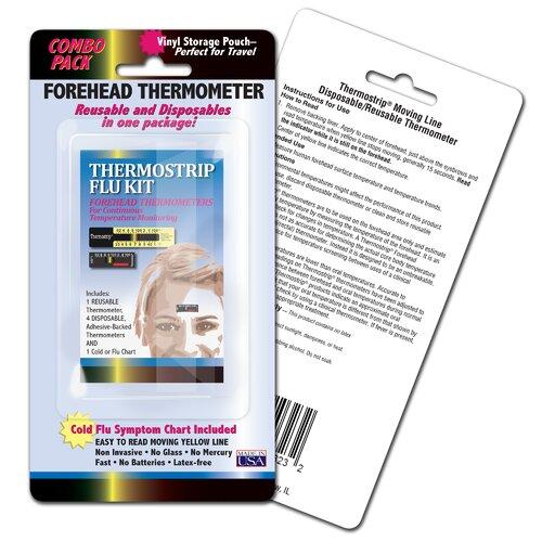 LCR Hallcrest Thermostrip Flu Kit (Pack of 3)
