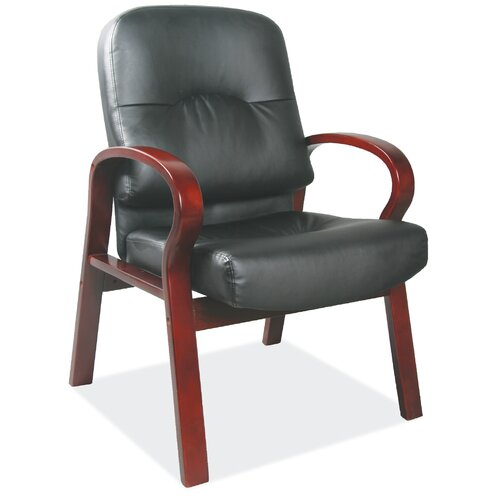 OfficeSource Vital Leather Guest Chair