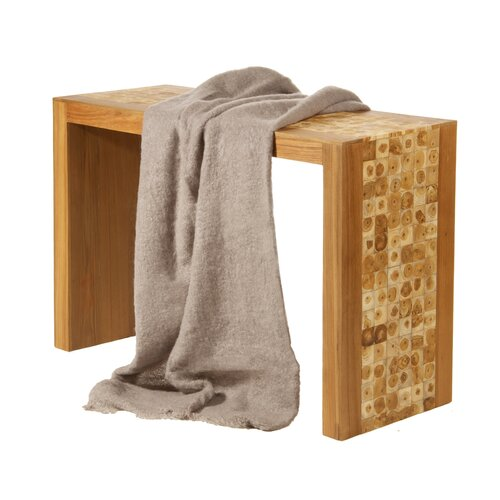 Foreign Affairs Home Decor Angora Goat Wool Mohair Throw