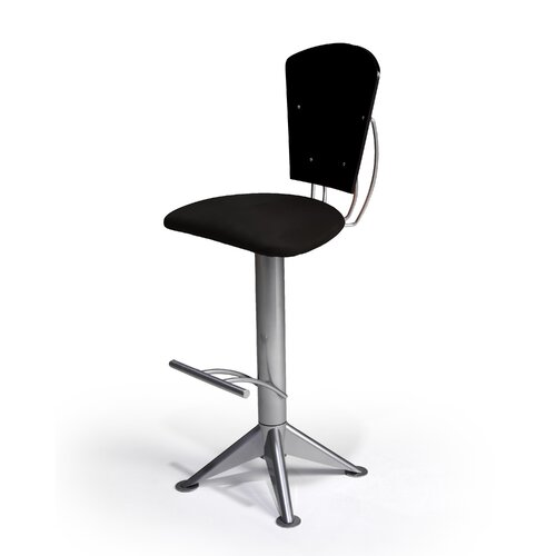 "Createch Keos 24"" Swivel Bar Stool with Cushion"