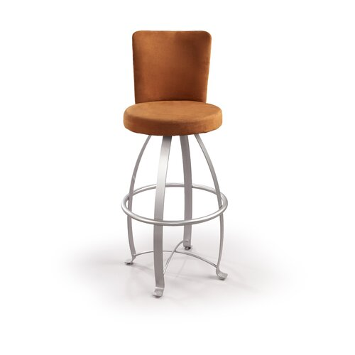 "Createch Eva 30"" Swivel Bar Stool with Cushion"