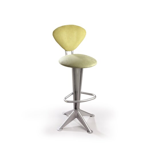 "Createch Cosmos 24"" Swivel Bar Stool with Cushion"