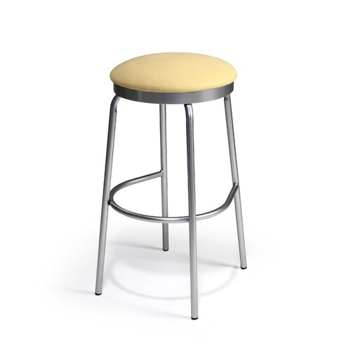 "Createch Doba 30"" Swivel Bar Stool with Cushion"