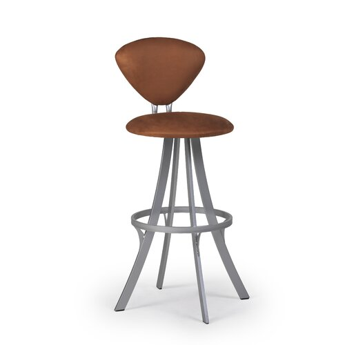 "Createch Prim 30"" Swivel Bar Stool with Cushion"