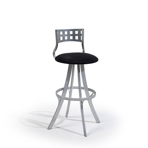 "Createch Leo 30"" Swivel Bar Stool with Cushion"