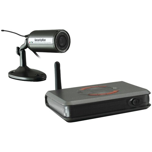 Security Man Wi-Fi 900 MHz Indoor/Outdoor Color Bullet Camera Kit