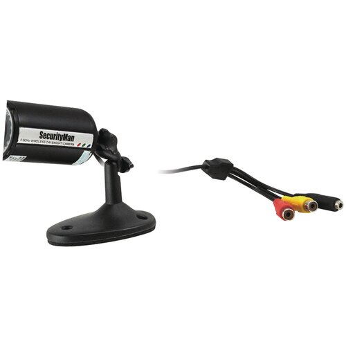 Security Man Wired Indoor/Outdoor Color Bullet Camera Kit