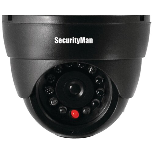 Security Man Dummy Indoor DomeCamera with LED
