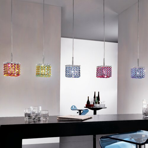 Masiero Aurea 1 Light Mini Pendant