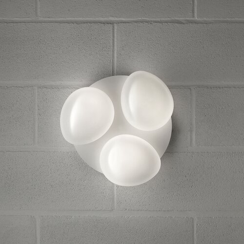 Masiero Sasso 3 Light Cluster Wall Sconce