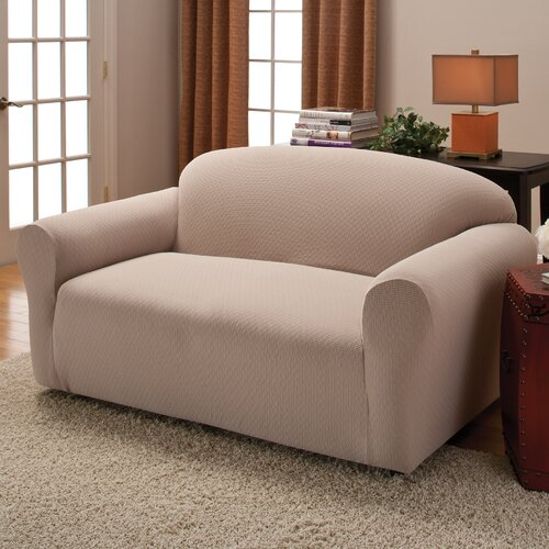 Innovative Textile Solutions Crossroads Loveseat Stretch Slipcover