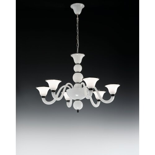 Canaletto 6 Light Chandelier